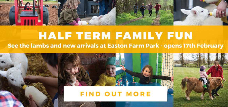 Banner Advertisement Easton Farm Park 17 Feb 2020