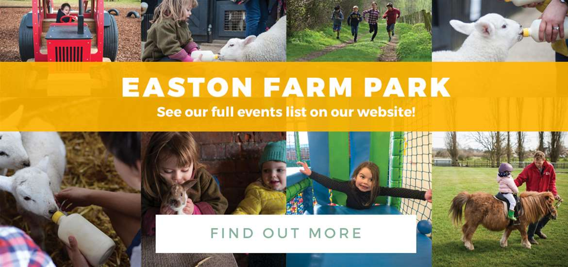 Banner Ad Easton Farm Park TTD Events 1 to 31 March 2018