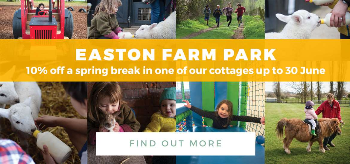 Banner Ad Easton Farm Park TTD Spring Break 1 to 31 March 2018