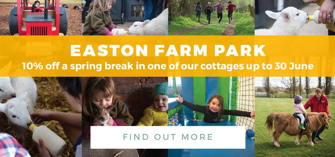 Banner Ad Easton Farm Park TTDW Spring 1 to 31 March 2018