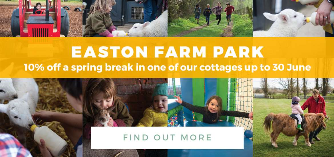 Banner Ad Easton Farm Park TTD Spring 1 to 31 March 2018