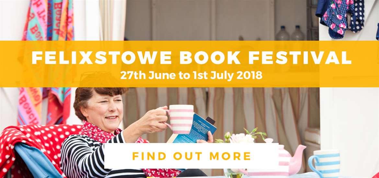 Banner Ad Felixstowe Book Festival TV