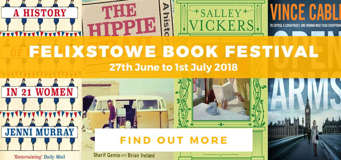 Banner Ad Felixstowe Book Festival Book Covers