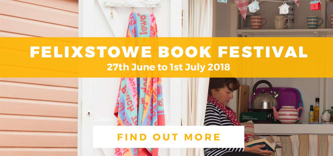 Banner Ad Felixstowe Book Festival TVF