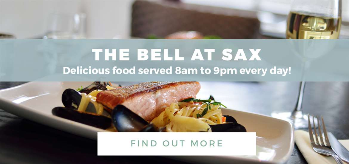 Banner Ad The Bell at Sax FD 1 to 30 June 2018