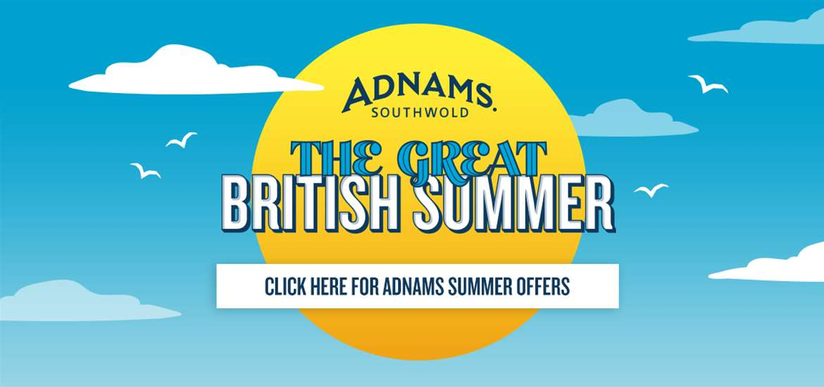 Banner Advertisement Adnams Offers July 2019
