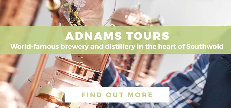 Banner Advertisement Adnams Tours TV March 2020
