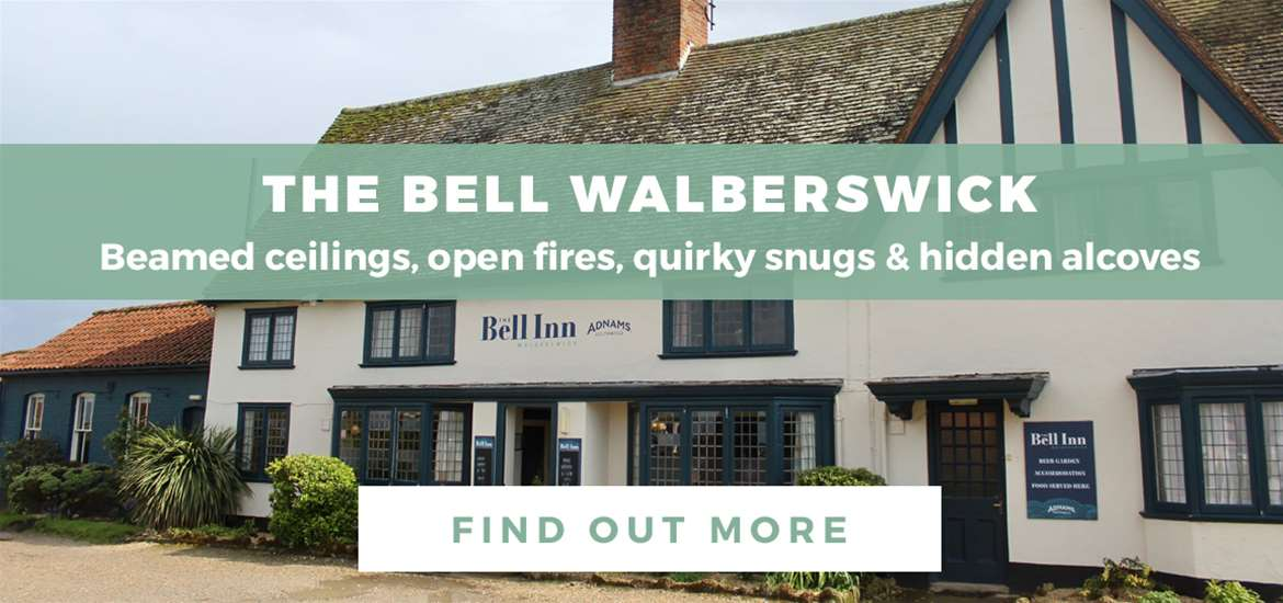 Banner Advertisement The Bell at Walberswick WTS March 2020