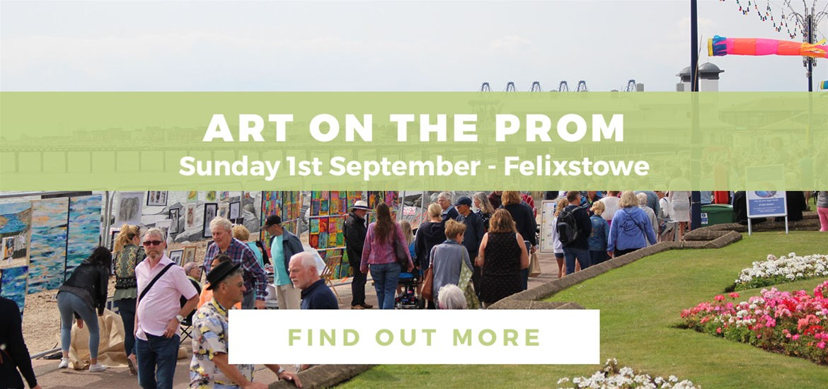 Banner Advertisement Art on the Prom August 2019 FTG