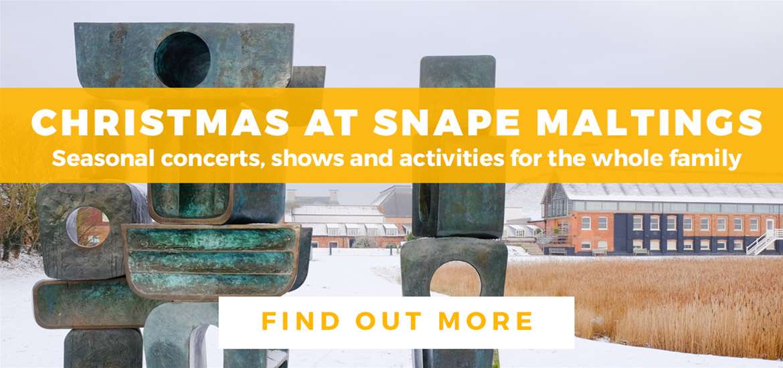 Banner Advertisement Snape Maltings Nov 2019 TTDW