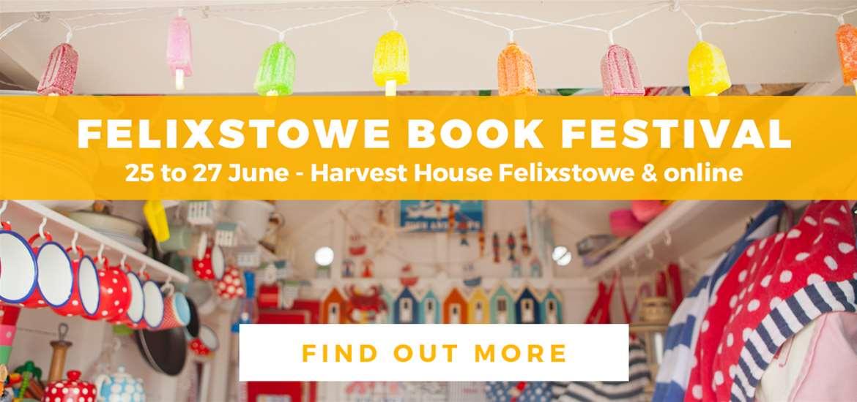 Banner Advertisement - Felixstowe Book Festival 2021