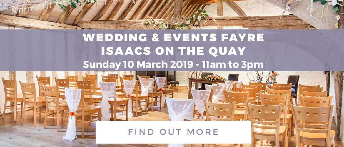 Banner Advertisement Isaacs on the Quay March 2019