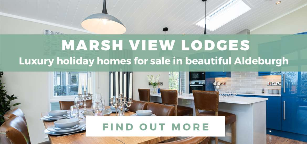 Banner Advertisement Marsh View Lodges Aldeburgh October 2020 WTS
