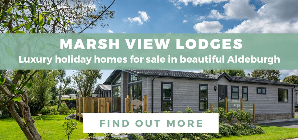 Banner Advertisement Marsh View Lodges Aldeburgh October 2020 WTS2