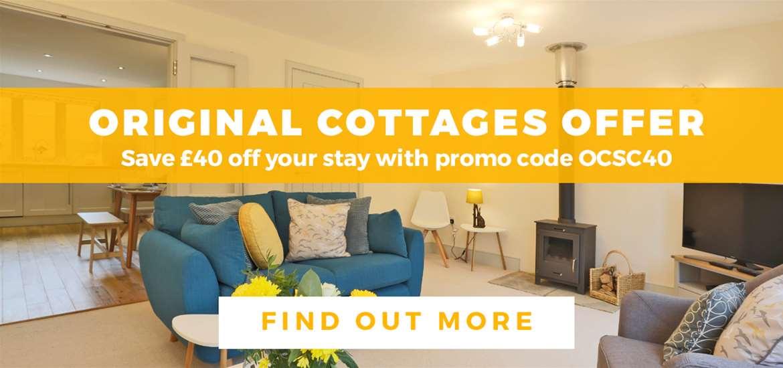 Banner Advertisement Original Cottages July 2019