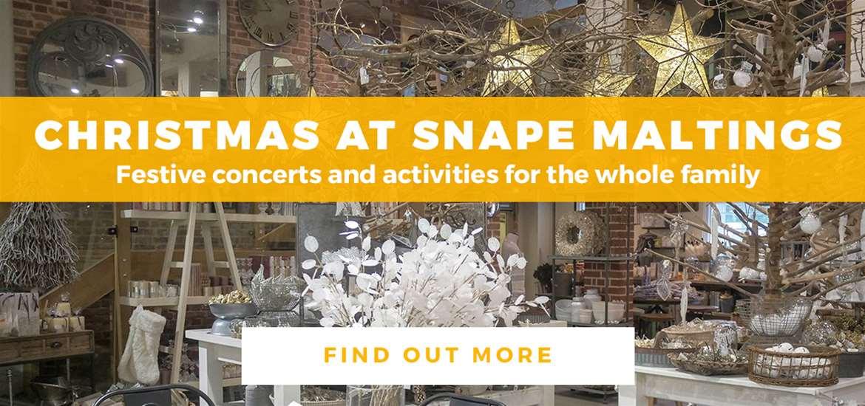Banner Advertisement Snape Maltings November 2018