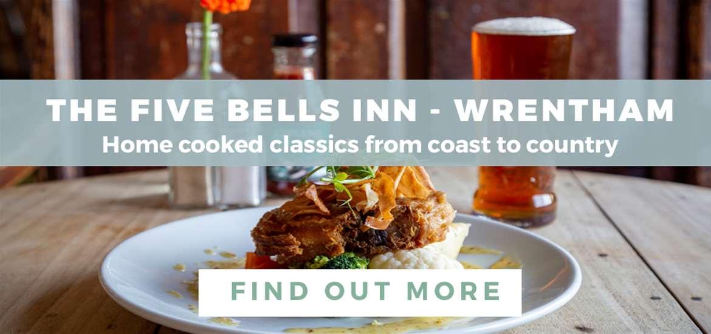 Banner Advertisement Five Bells February 2020