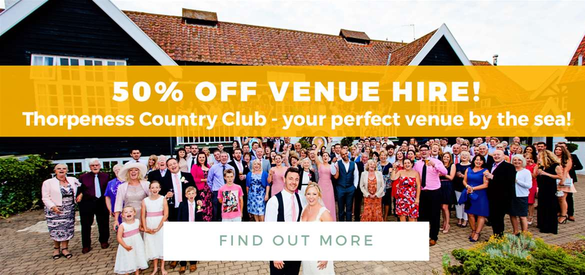 Banner Advertisement - Thorpeness Country Club TTD August 2018