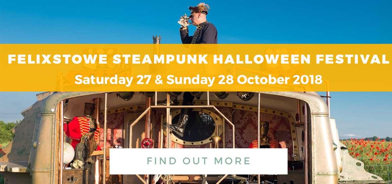Banner Advertisement Steampunk October 2018