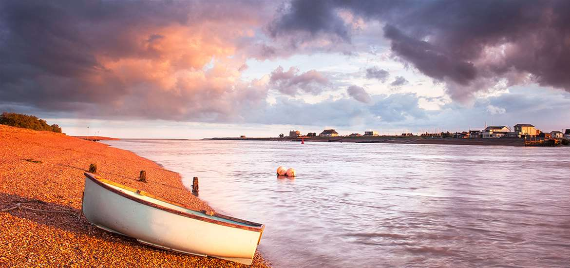 Towns and Villages - Bawdsey Quay - Gill Moon Photography