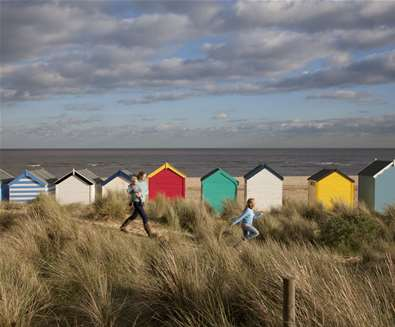 Southwold Beach on The Suffolk Coast