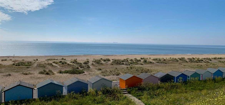 TTDA - Pakefield Beach - Beach huts