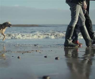 Beach walks on The Suffolk Coast