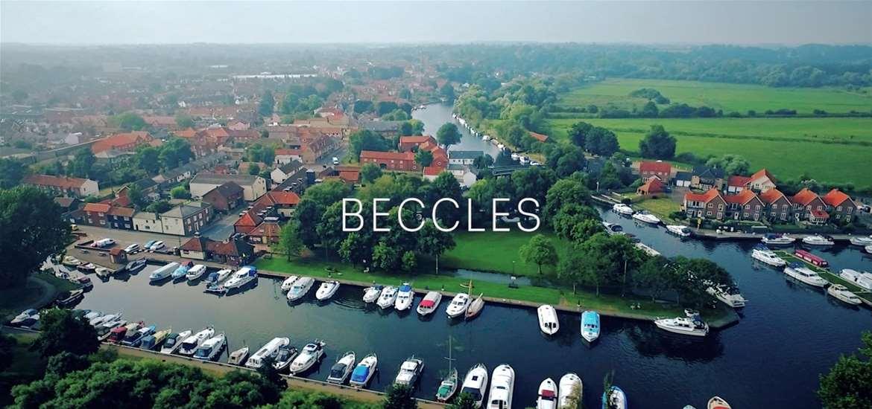 Beccles near the Suffolk coast