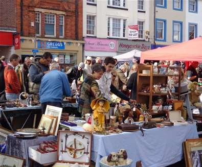 Antiques Street Market - Beccles