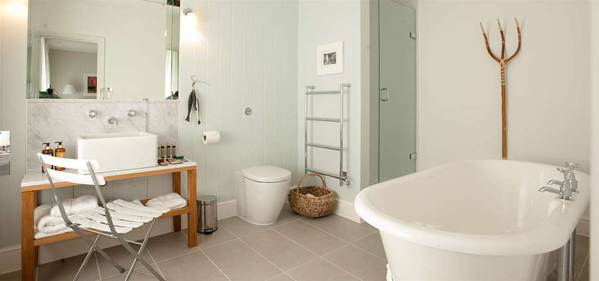 Articles - Top Spots for a Romantic Break on The Suffolk Coast - The Crown at Woodbridge - Bedroom