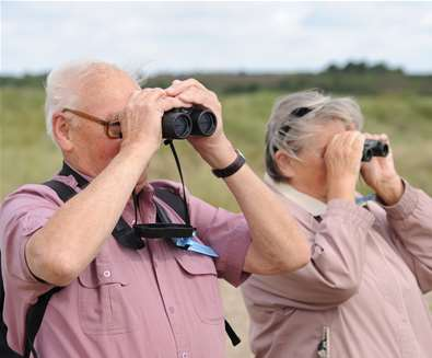 Birdwatching for beginners - RSPB Minsmere
