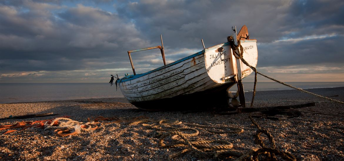 Aldeburgh Beach-Image courtesy of Visit Suffolk