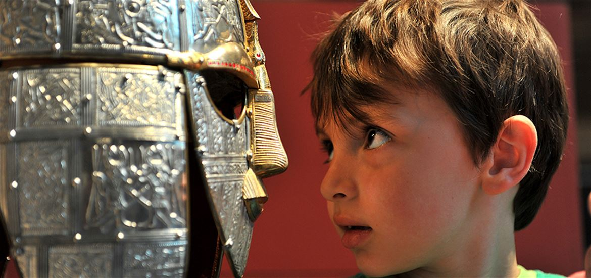 Sutton Hoo - Boy with Helmet