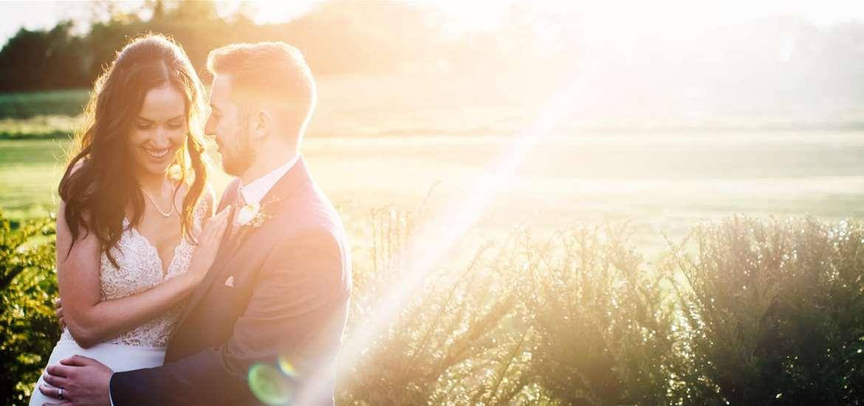 Weddings - Bruisyard Hall & Barn - Couple