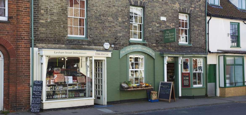 Towns & Villages - Bungay - shops