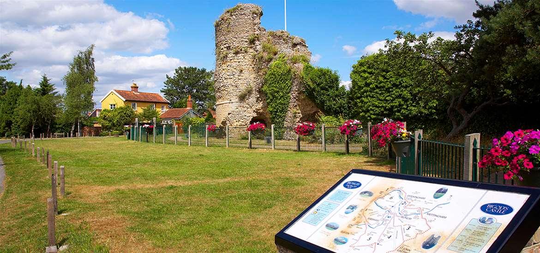 Towns & Villages - Bungay - Castle