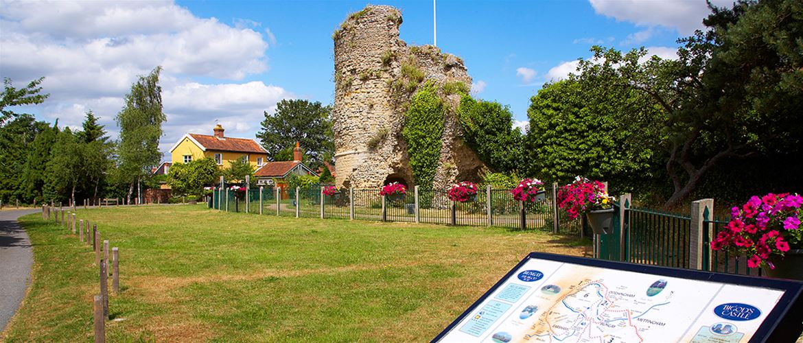 Bungay - Towns and Villages - Bigod Castle - (c) Jon Gibbs