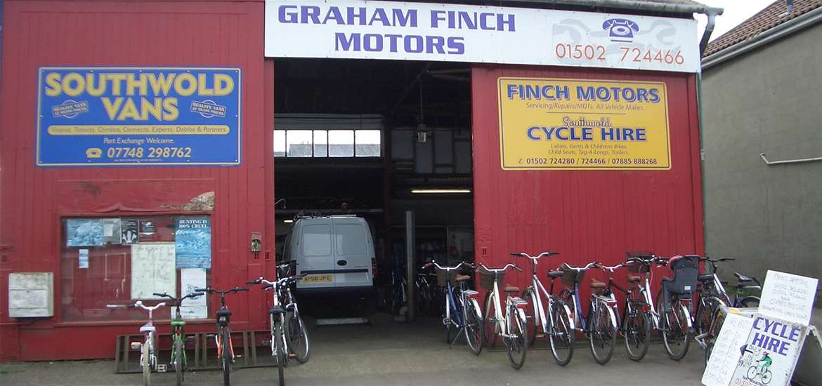 Graham Finch Cycle Hire Southwold