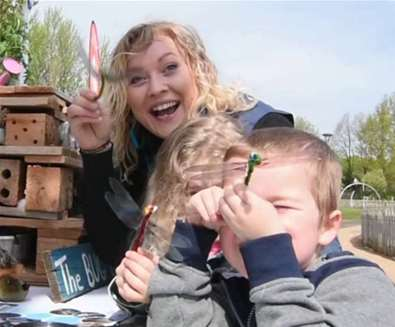 RSPB- 'Giving Nature a Home' & free children's activity