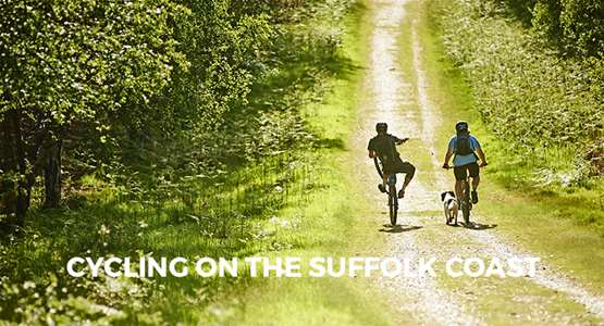 Cycling on The Suffolk Coast