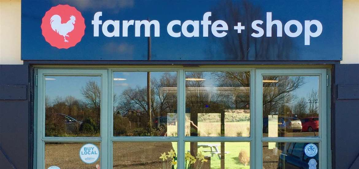 FD - Farm Cafe and Shop - Cafe Window