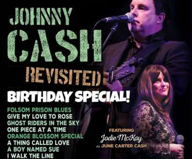 Johnny Cash Revisited-A Birthday..