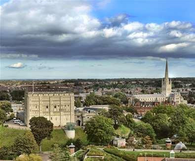 TTDA - Norwich - Castle & Cathedral (c) Visit Norwich