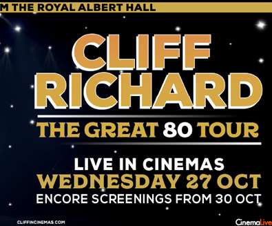Cliff Richard Live: The Great 8..
