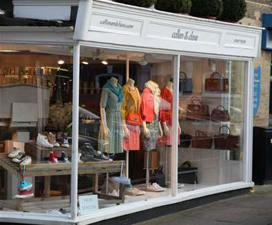 Collen and Clare - Shop Front