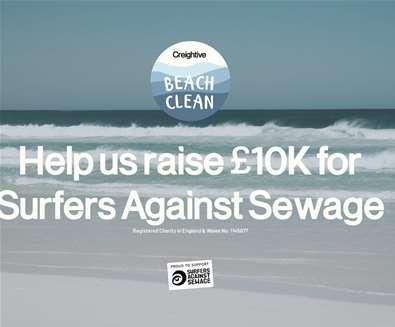 Creightive Beach Clean - Sizewe..