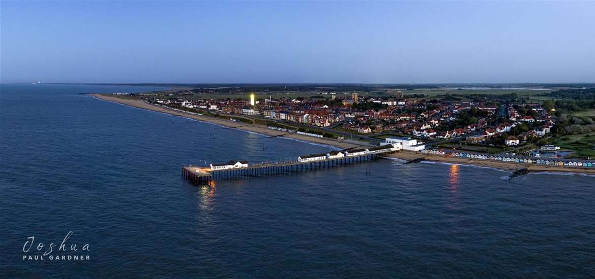 TTDA - Southwold Pier - Pier from above