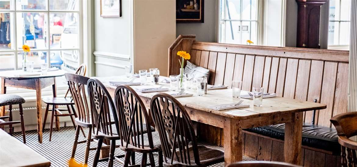 WTS - The Crown Southwold - Main restaurant