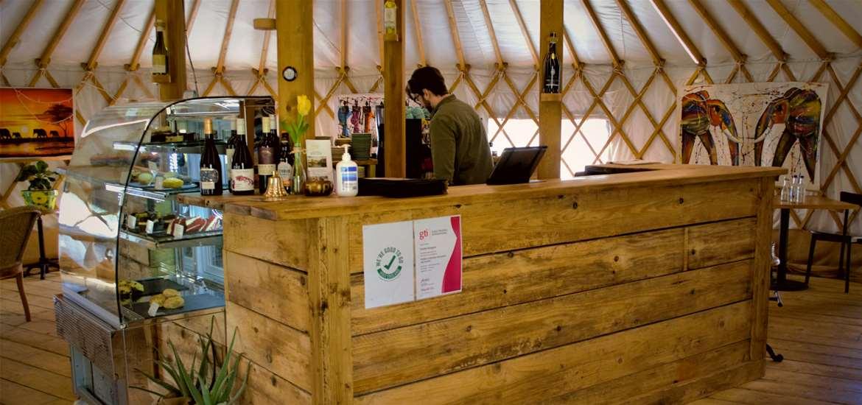 FD - Yurt Cafe Organics - Cafe