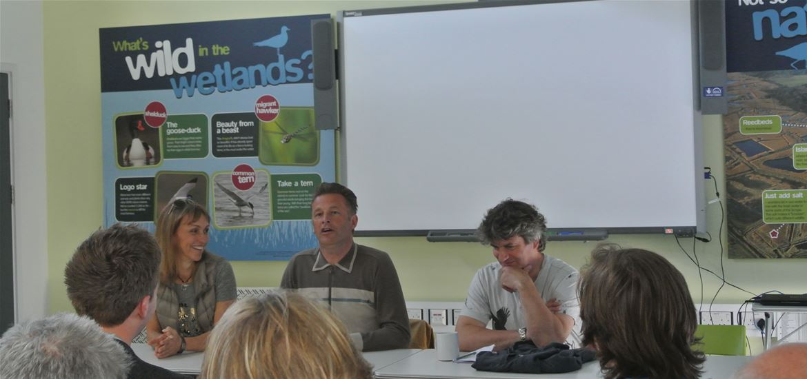 Interview with RSPB Springwatch 2015 presenters Chris Packham and Martin Hughes-Games